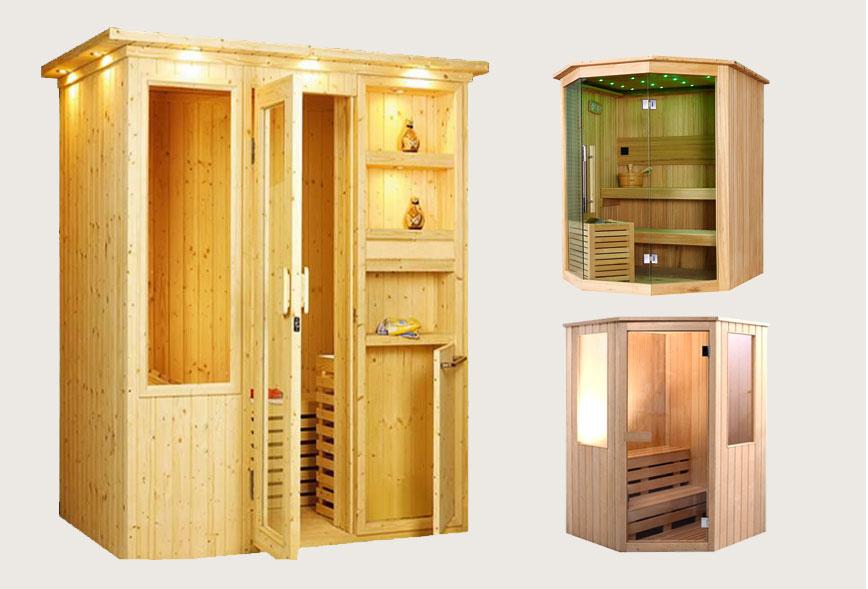 Phòng xông hơi khô truyền thống
