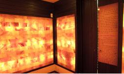 Phòng xông hơi khô hồng ngoại vách đá muối