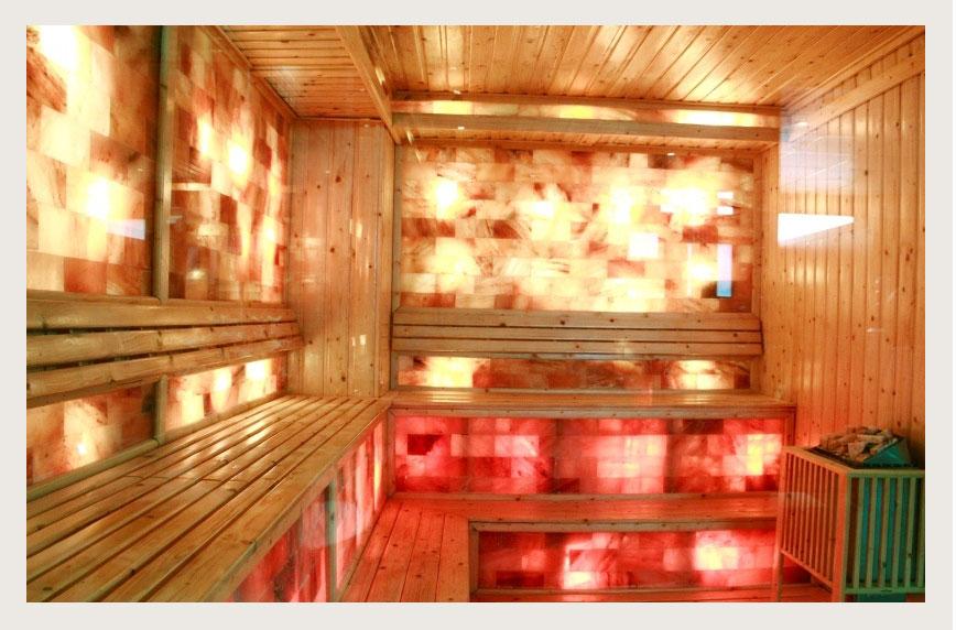 Phòng xông hơi khô đá muối