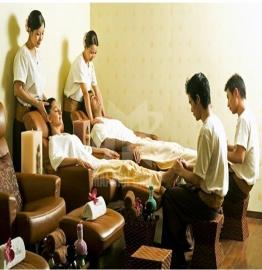 Ghế foot massage – Nội thất Spa đắt lực hỗ trợ các liệu trình chăm sóc thư giãn
