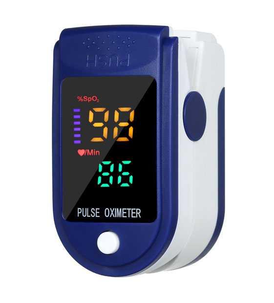Máy đo nồng độ Oxy trong máu (Spo2) Pulse Oxymeter Fingertip