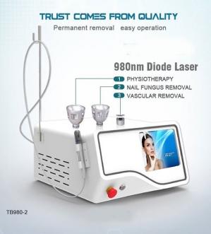 Máy trị giãn mao mạch 980nm Diode Laser