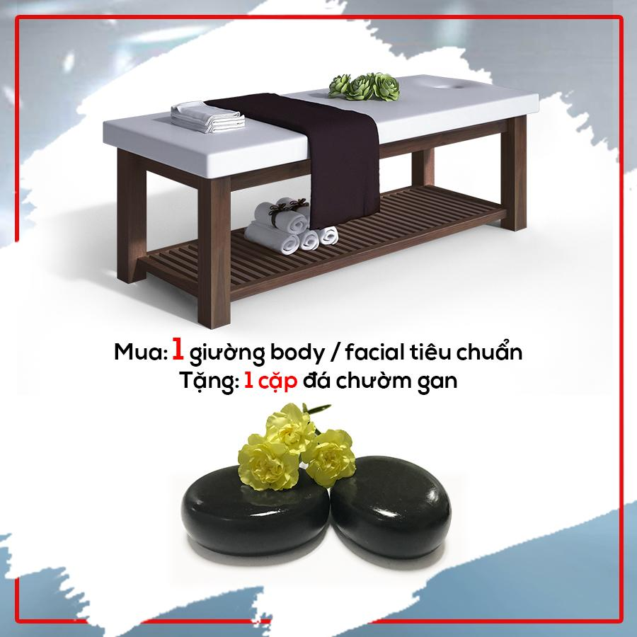 giường massage facial/body