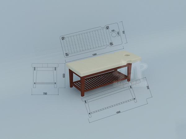 Giường massage sản xuất bởi Mai Hân