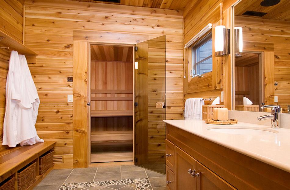 Cấu tạo phòng xông hơi gỗ được nhiều người ưa chuộng hiện nay
