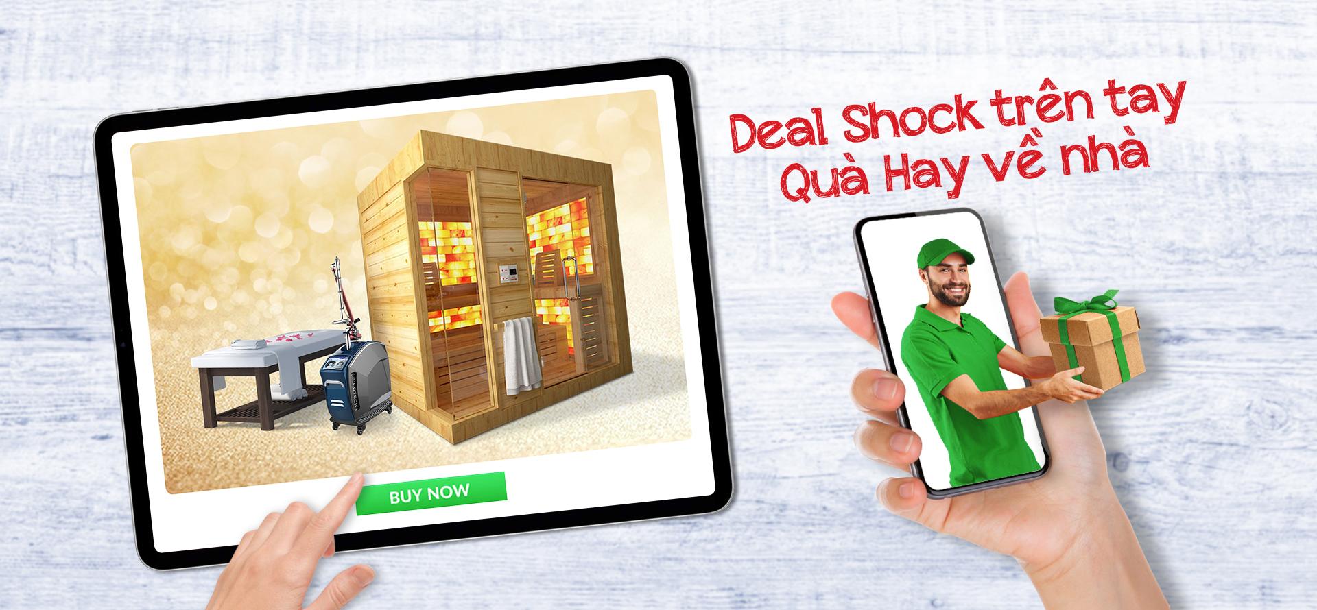 Cơn lốc deal tháng 8: Deal shock trên tay - Quà hay về nhà