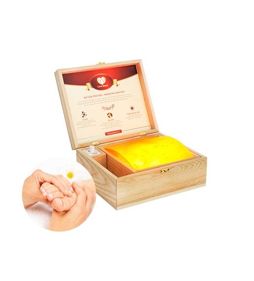 Hộp đá muối massage chân Love Stone Deluxe