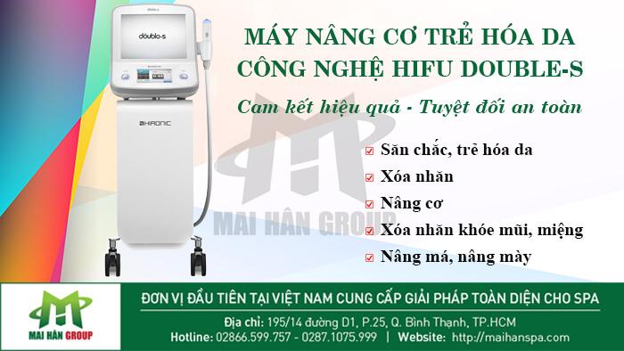 Máy nâng cơ và trẻ hóa da bằng công nghệ Hifu Double-S Hironic hình 8