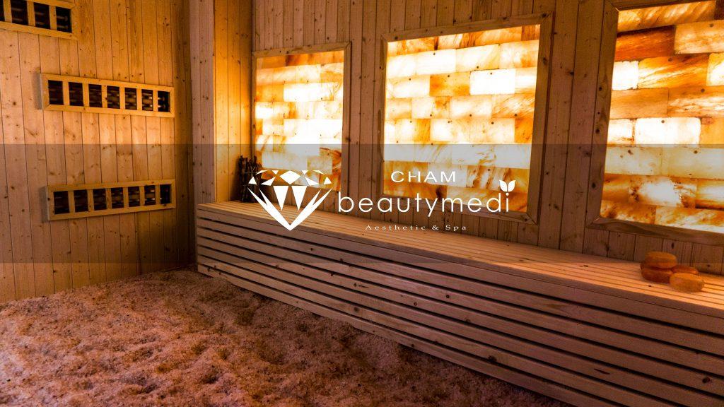 Phòng xông hơi đá muối ChamBeautyMedi hình ảnh 4