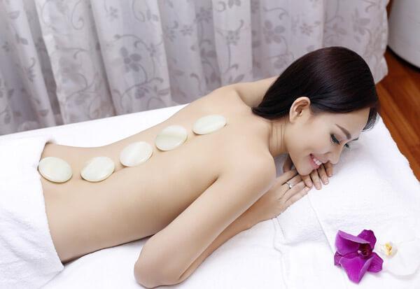 đá massage lạnh tròn trung
