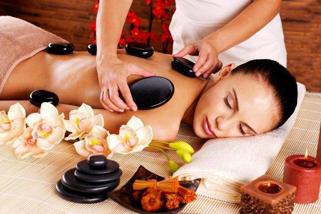 Bộ đá massage