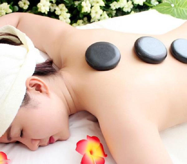 đá massage tròn trung