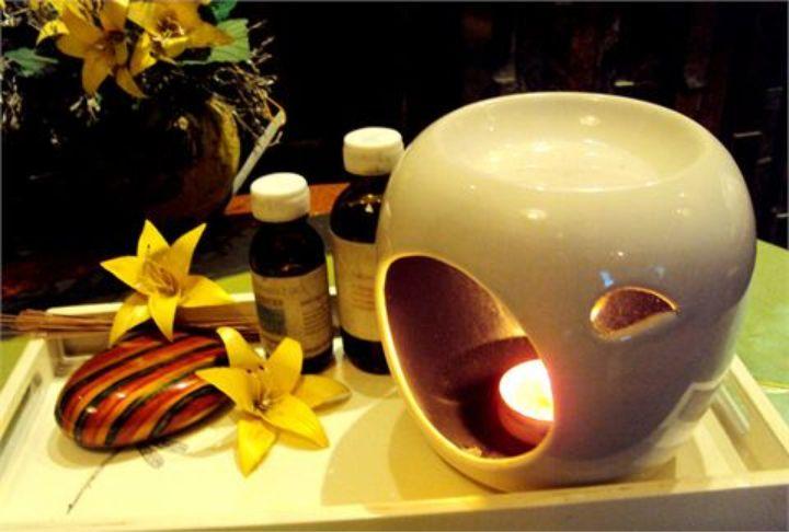 Tạo không gian thư giãn tràn ngập hương thơm dịu nhẹ, thư thái với đèn xông tinh dầu hình ảnh 5