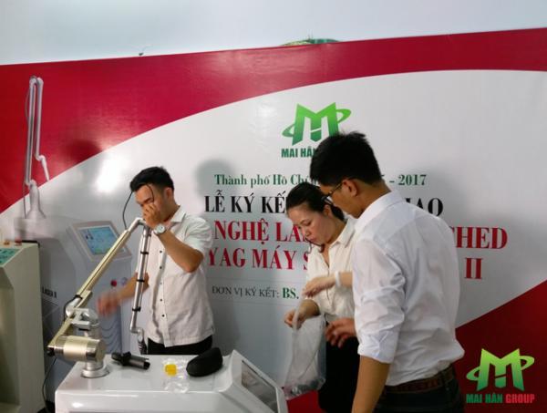 Mai Hân Spa là đơn vị cung cấp máy Super Laser II cho phòng khám trị liệu bác sĩ Nguyễn Kim Khoa hình ảnh 4