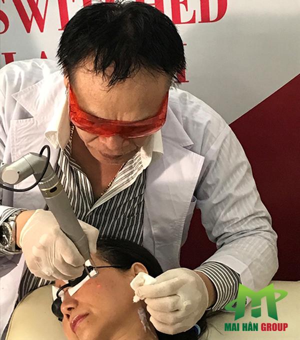 Mai Hân Spa là đơn vị cung cấp máy Super Laser II cho phòng khám trị liệu bác sĩ Nguyễn Kim Khoa hình ảnh 2