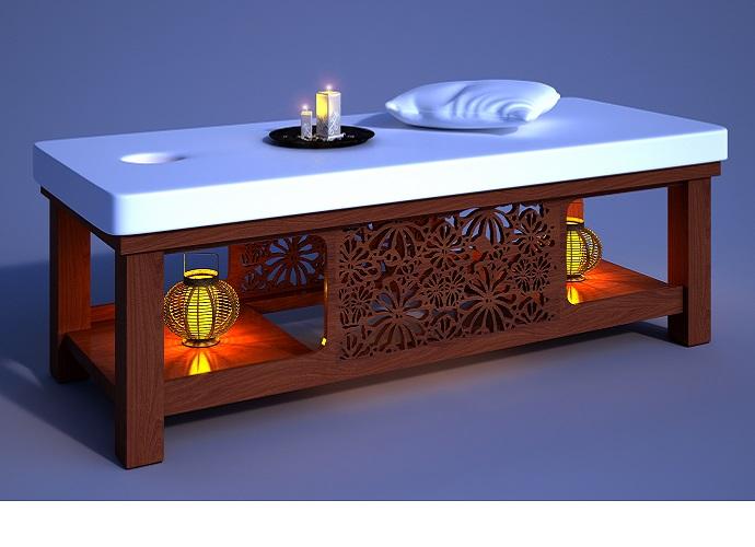 Giường massage đa năng - hai chức năng trong một sản phẩm