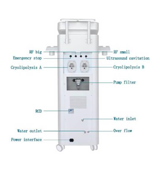 Linh kiện máy Cryolipolysis