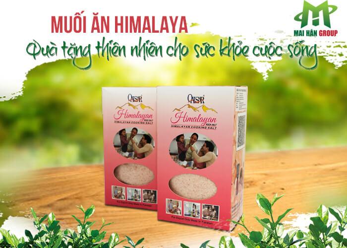 Muối ăn Himalaya chính là sản phẩm được tạo nên từ loại đá muối khai thác từ những hang đá ở dãy núi Himalaya, Pakistan.