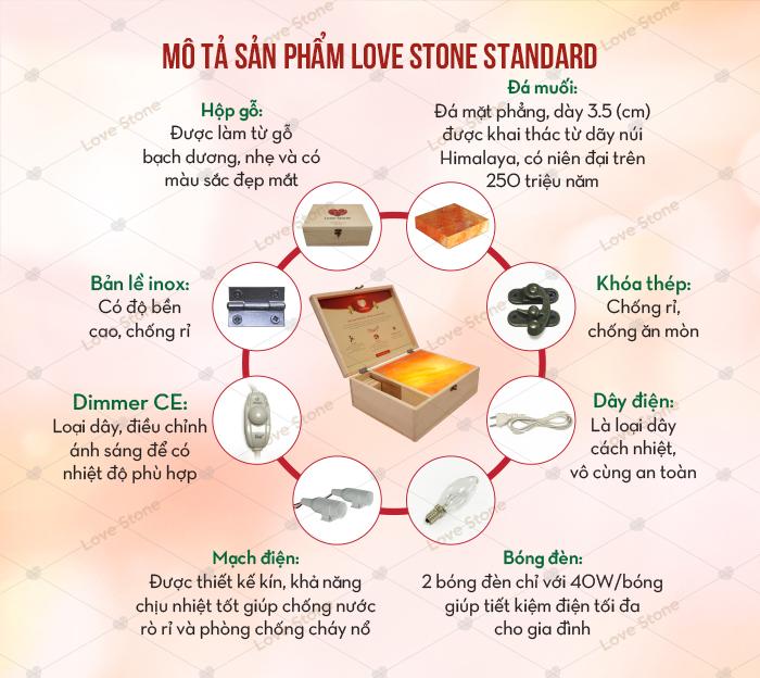 Đặc điểm Love Stone Standard