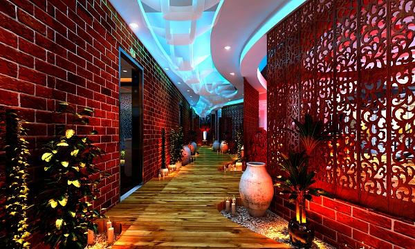 Công trình set up và thiết kế spa nghỉ dưỡng tiêu chuẩn 3 sao khách sạn Paradise Đà Nẵng