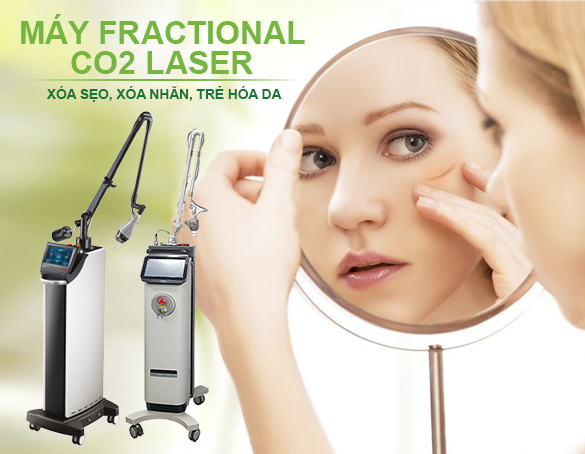 Máy Fractional CO2 Laser