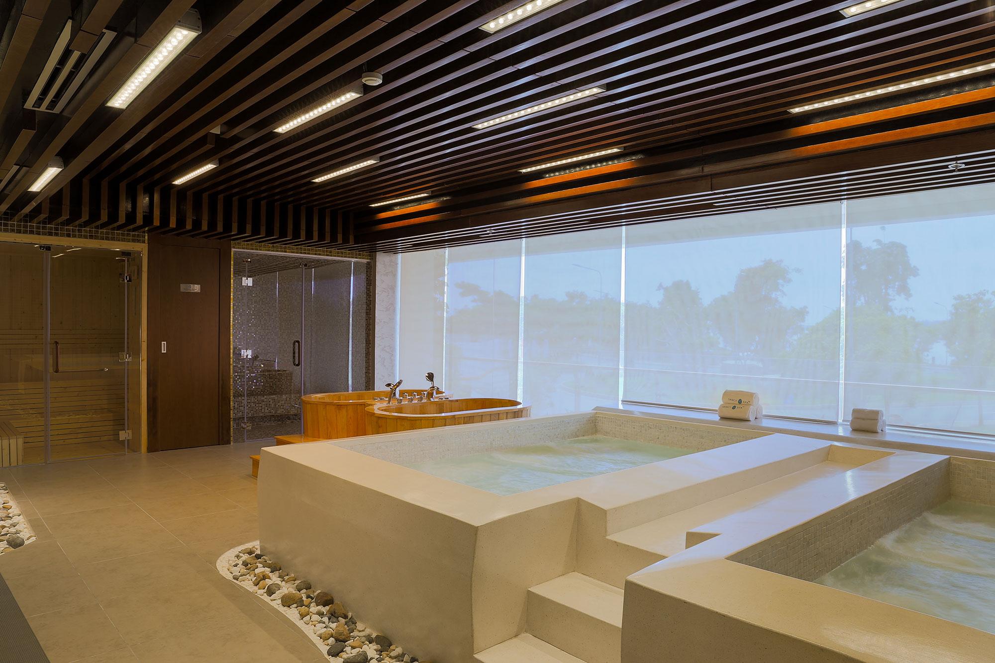Sancy Spa – Dự án spa nghỉ dưỡng với 6 bồn Jacuzzi do Mai Hân Spa cung cấp