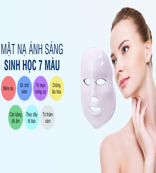 Mặt nạ trị liệu da bằng ánh sáng sinh học 7 màu G-234